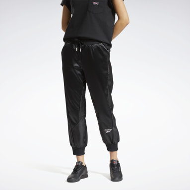 Women Classics Black Classics Satin Pants