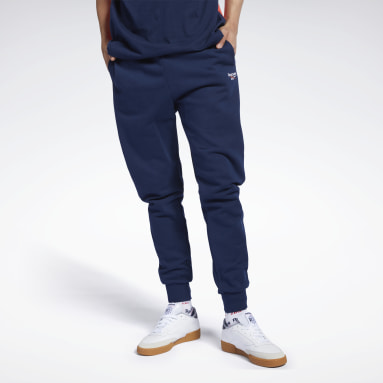 Men Classics Blue Classics Vector Pants