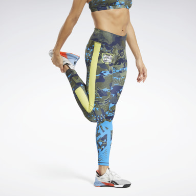 RC Lux Bold Tight AOP G Verde Mujer CrossFit