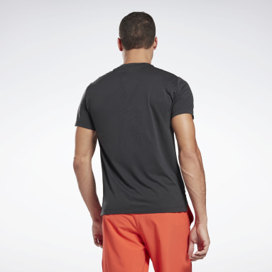 Men Training Black United By Fitness Perforated T-Shirt