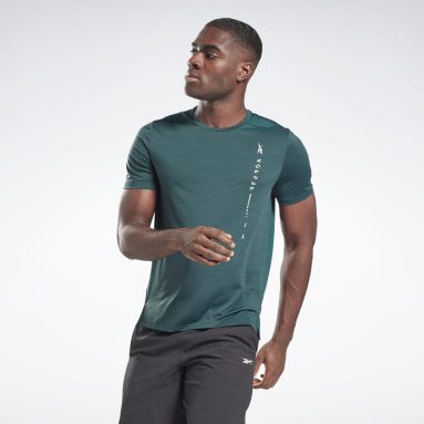 T-shirt Activchill Move Verde Uomo Fitness & Training