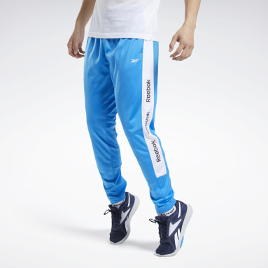 Men Training Blue Training Essentials Track Pants