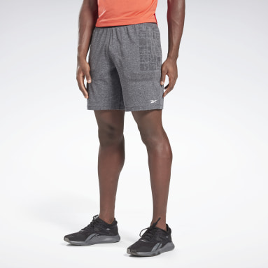 Short sans coutures MyoKnit United by Fitness Gris Hommes Trail Running