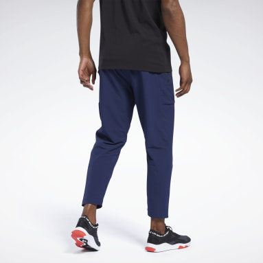 Men Pilates Blue Les Mills® Athletic Pants