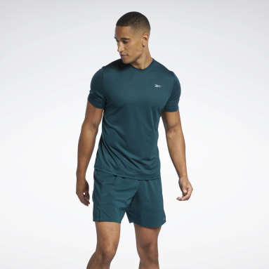 Camiseta Running Essentials Verde Homem Running