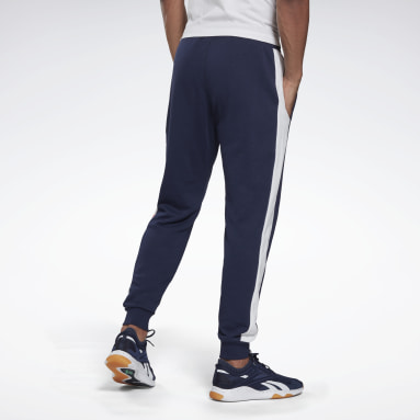 Pantalón Training Essentia Linear Logo Joggers Azul Hombre Fitness & Training