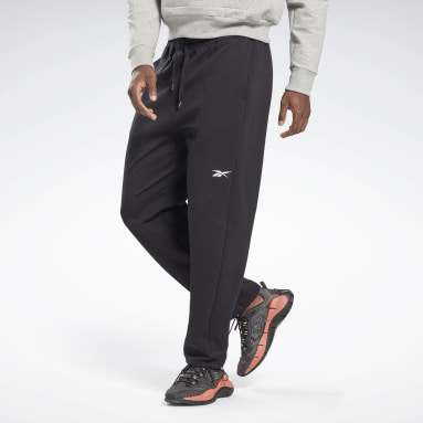 Men Fitness & Training Black DreamBlend Cotton Track Joggers
