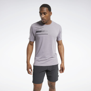 Men Training Grey ACTIVCHILL Graphic Move Tee