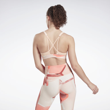 Dam Dans Lux Strappy Sports Bra