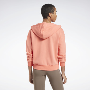 Felpa con cappuccio Reebok Identity Zip-Up Donna Fitness & Training