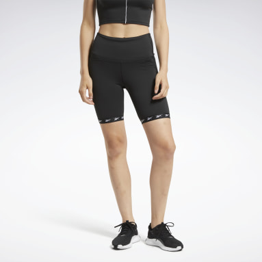 Pantalón corto Studio Bike High-Intensity Negro Mujer Ciclismo