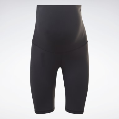 Women Studio Black Maternity Bike Shorts