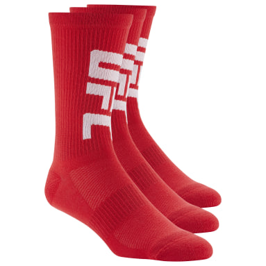 UFC Red UFC Ultimate Fan Ankle Sock