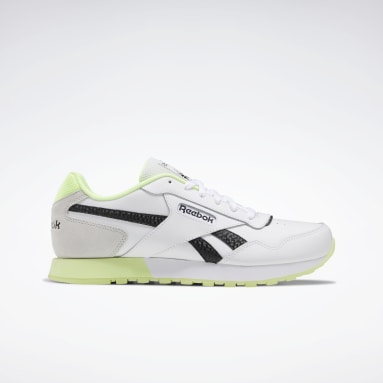 Men Classics White Reebok Classic Harman Run Women's Shoes