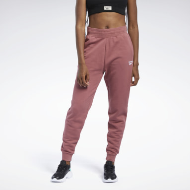 Dam Classics Röd Classics French Terry Pants