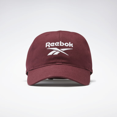 Running Burgundy Active Foundation Badge Cap