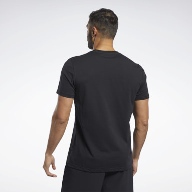 T-shirt Training Essentials Classic Noir Hommes Yoga