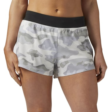 3IN WOVEN SHORT - CAMO Blanco Mujer Fitness & Training