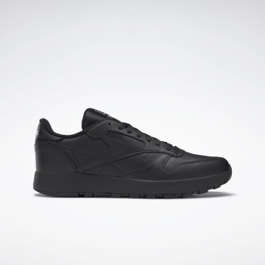 Classics Black Maison Margiela Classic Leather Tabi Shoes