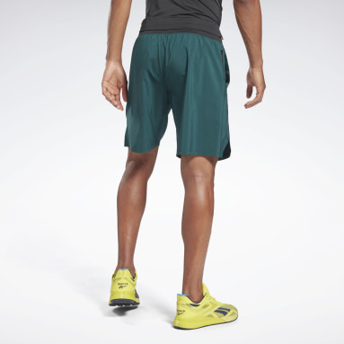 Men Fitness & Training Green Epic Lightweight Shorts