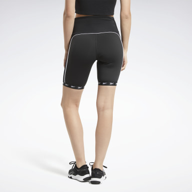 Women Cycling Black Studio Bike High-Intensity Shorts