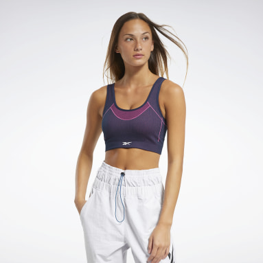 Bra Meet You There Low-Impact Blu Donna Yoga