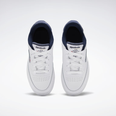 Boys Classics White Club C 85 Shoes