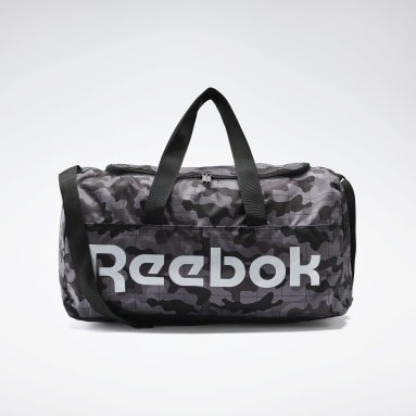 Training Black Active Core Graphic Duffel Bag Medium