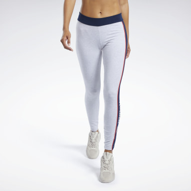 Women Classics Grey Classics Linear Leggings