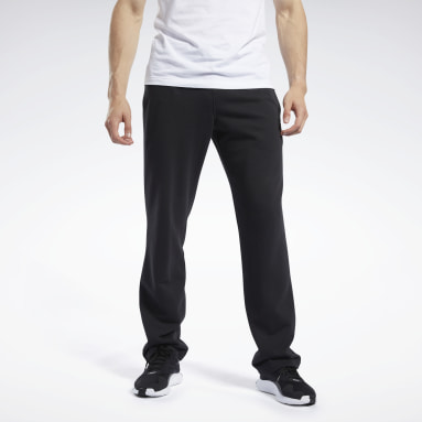 Men Fitness & Training Black Training Essentials Pants