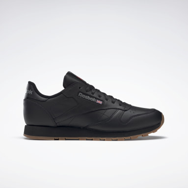 Men Classics Black Classic Leather