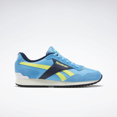 Classics Turquoise Reebok Royal Glide Shoes