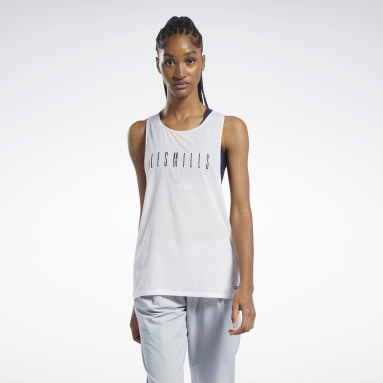 Women Studio LES MILLS® Light Woven Tank Top