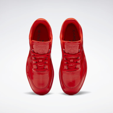 Women Classics Red Cardi Coated Club C Double Women's Shoes