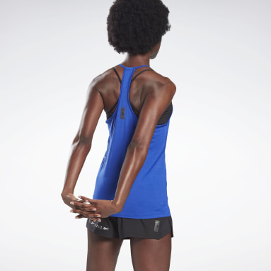 Women Studio Green LES MILLS® ACTIVCHILL Tank Top