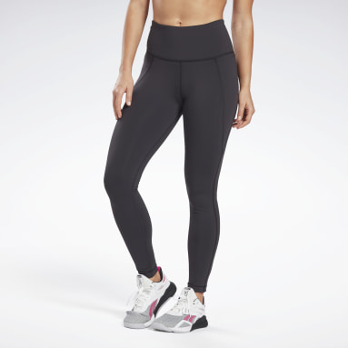 Women Training Black Lux High-Rise Leggings
