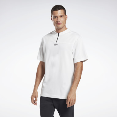 Camiseta MYT Tyler 1/4 Zip Blanco Fitness & Training
