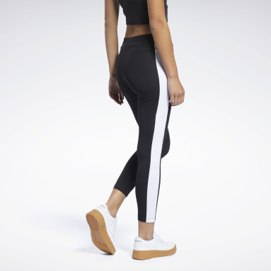 Women Classics Black Classics Foundation Linear Leggings
