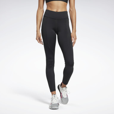 Women Fitness & Training Black Workout Ready Pant Program Leggings