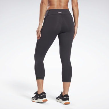 Women Fitness & Training Black Lux 3/4 Leggings