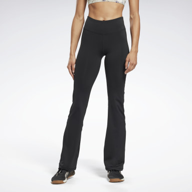 Women Dance Black Workout Ready Program Bootcut Pants