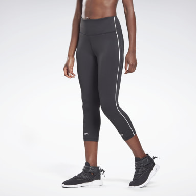Dam Studio Svart Vector Capri Tights