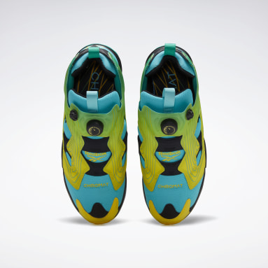 Classics Green Chromat Instapump Fury Shoes