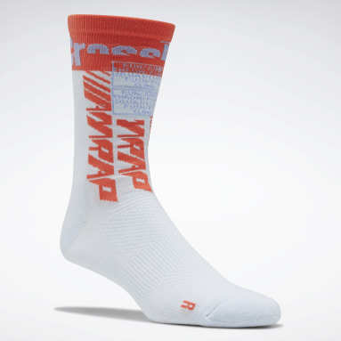 Cross Training Blå CrossFit® Printed Crew Socks