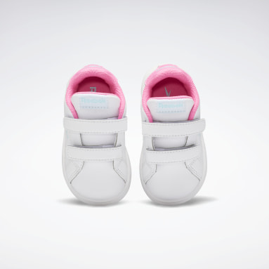 Girls Classics White Reebok Royal Complete CLN 2 Shoes