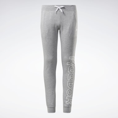 Pantalon de jogging Reebok Outline Gris Filles Fitness & Training