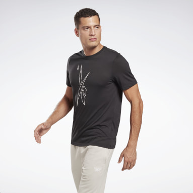Men Fitness & Training Black MYT Graphic T-Shirt