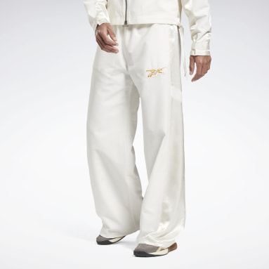 Men Fitness & Training White Cottweiler Woven Joggers