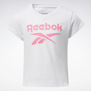 Girls Fitness & Training White Reebok Lock Up Tee