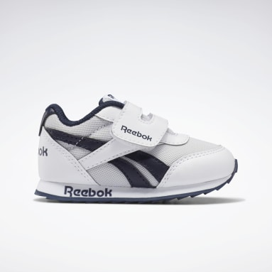 Boys Classics White Reebok Royal Classic Jogger 2 Shoes